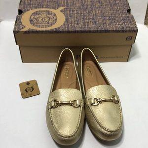 Born Footwear Magnolia Gold Flat/Loafer Shoes